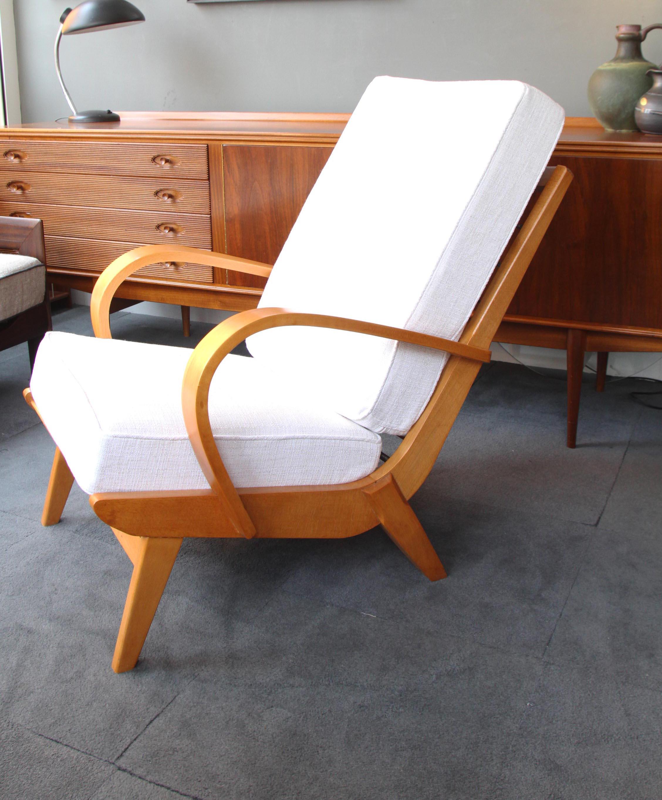 Beech Bent Armed Chair £375