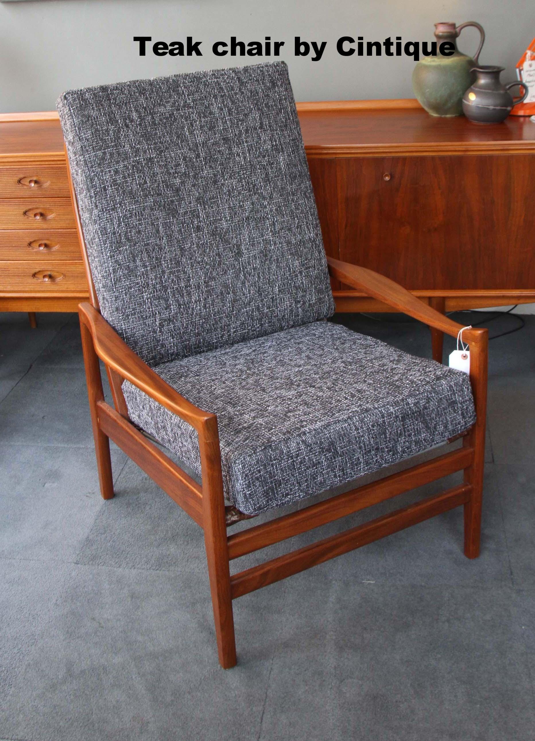 Teak 1970's Chair by Cintique £450