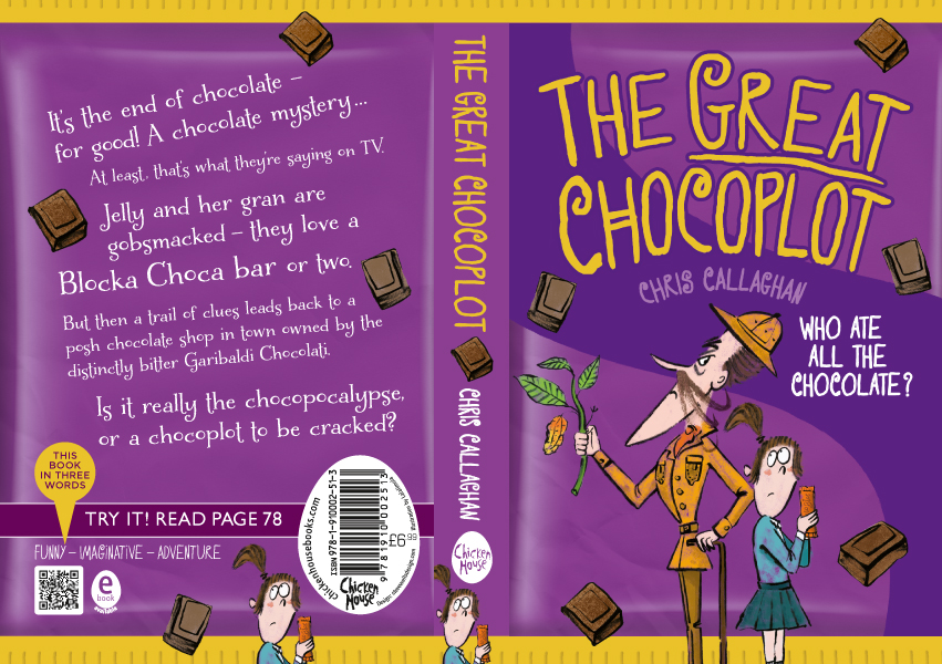 The Great Chocoplot with illustrations by Lalimola.