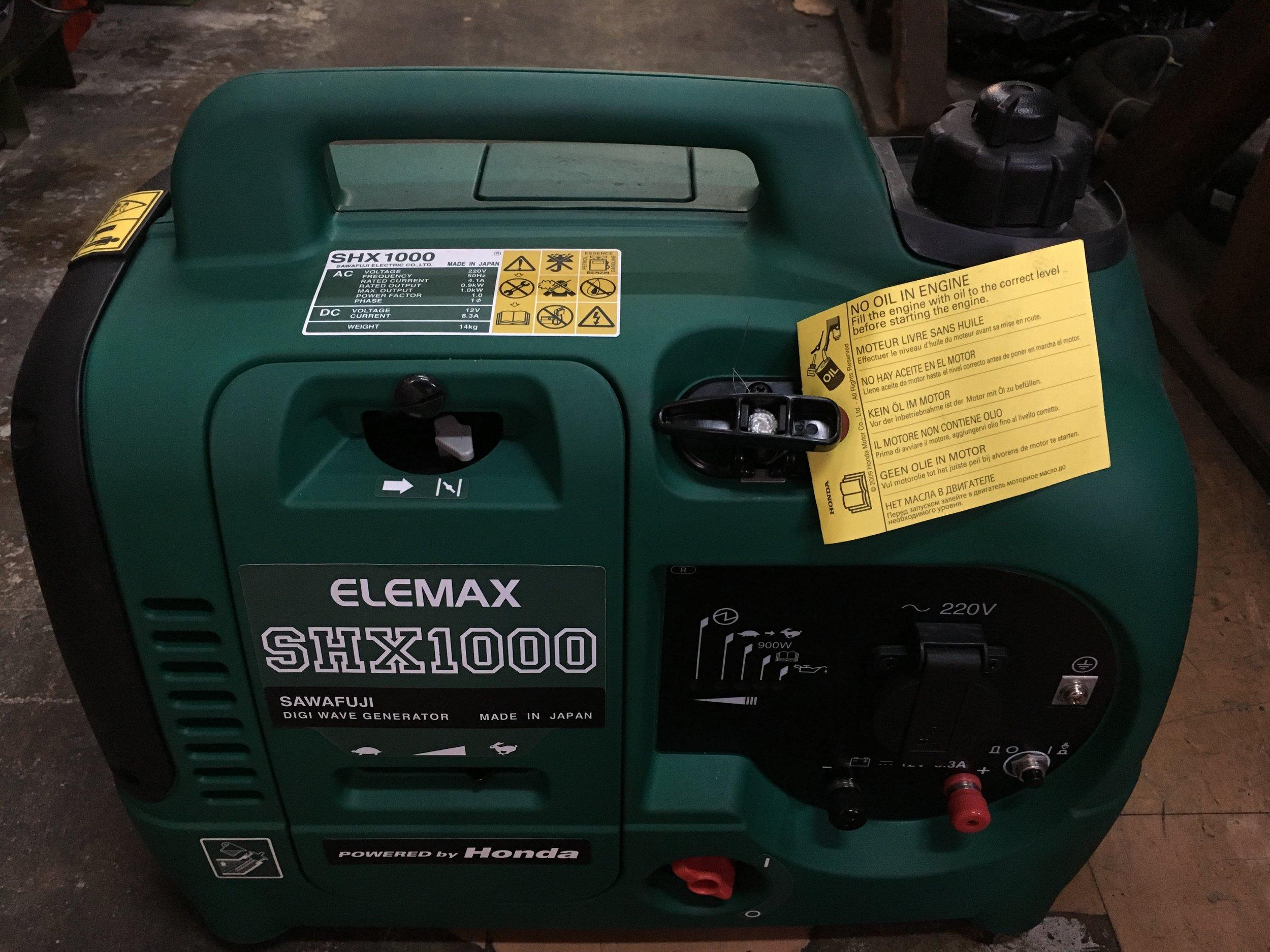 GENSET - ELEMAX SHX1000.JPG