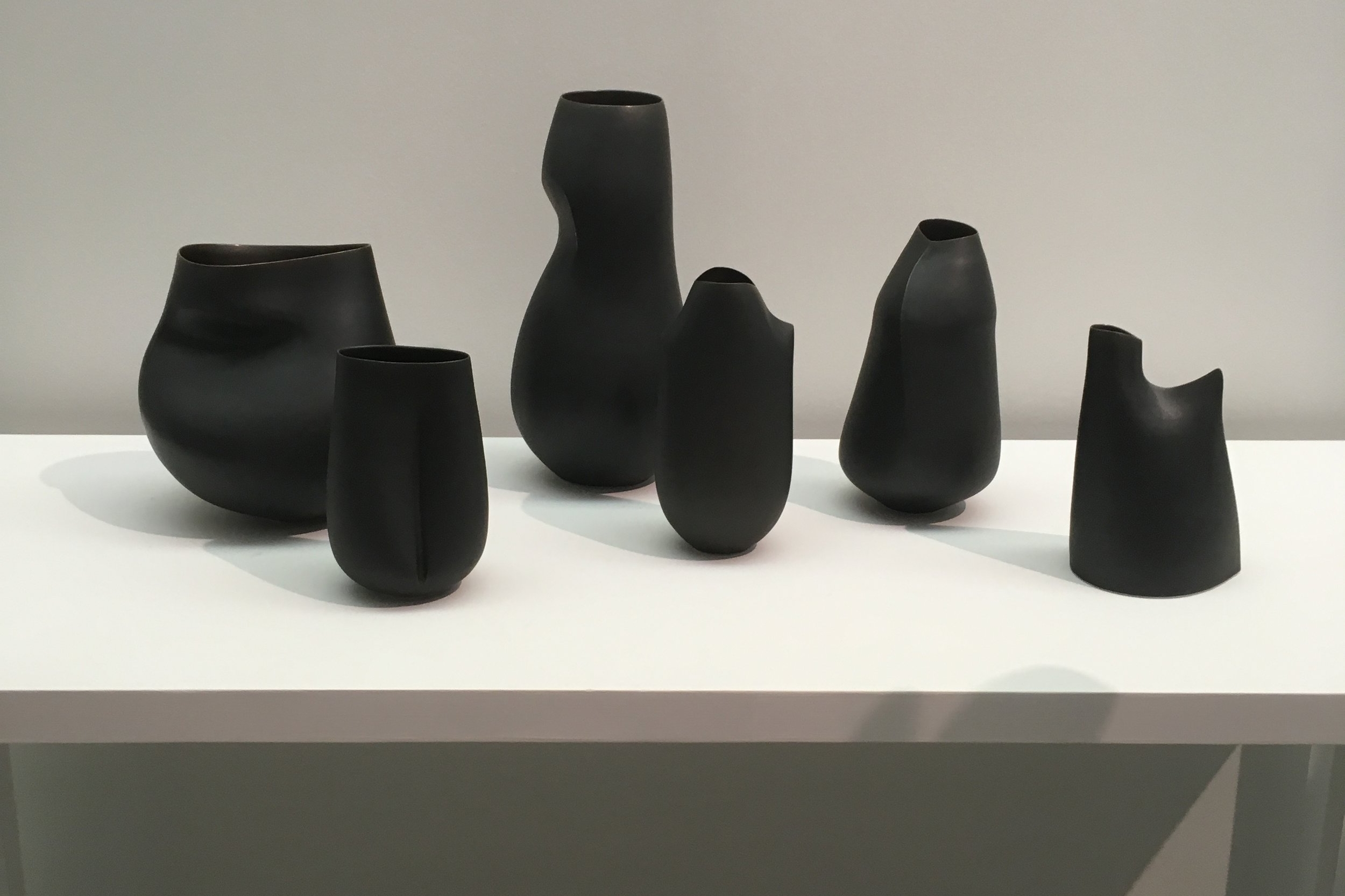 I also loved these Black Vessels by artist  Sara Flynn