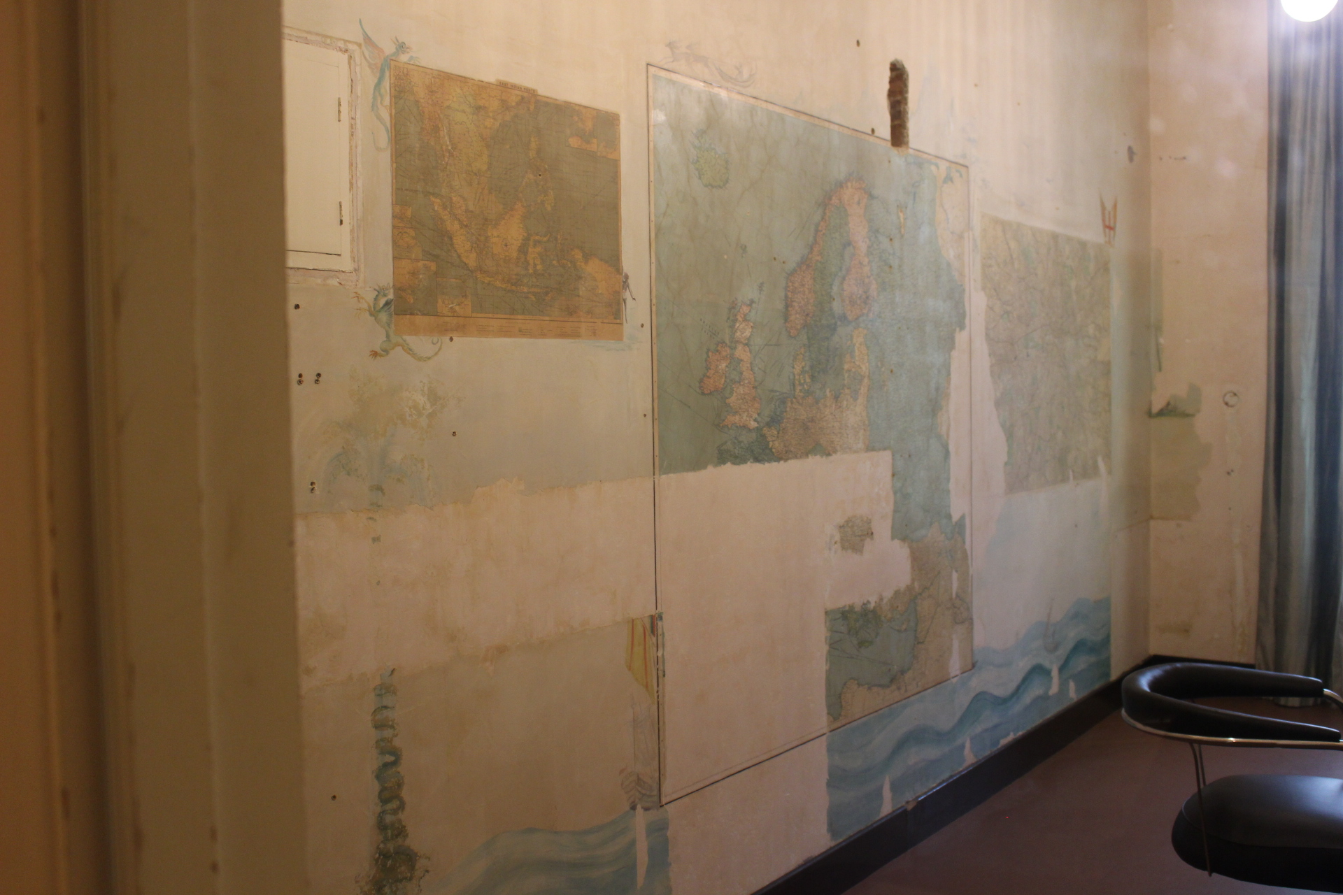 The Map Room - Can I have one these in my house please?