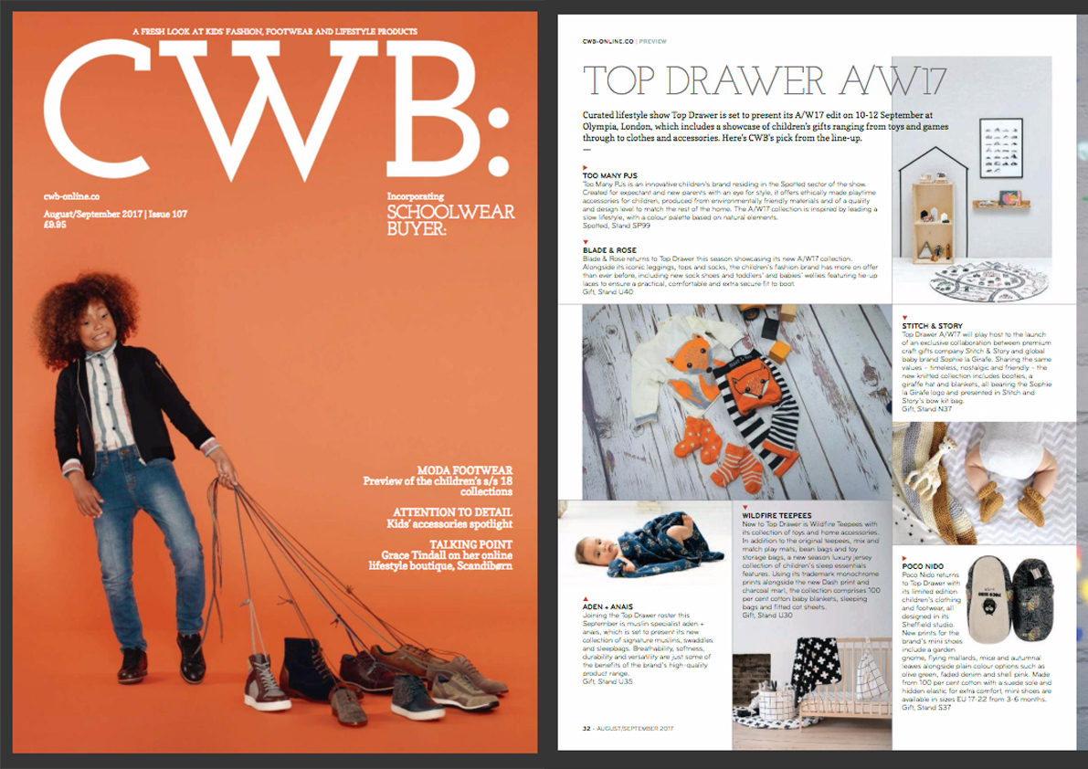CWB: Top Drawer AW17 - Issue 107- August/September 2017