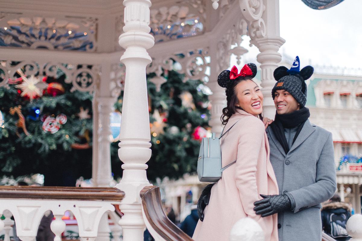 Chen Sands Paris Photographer Disneyland in Winter Engagement 6.jpg