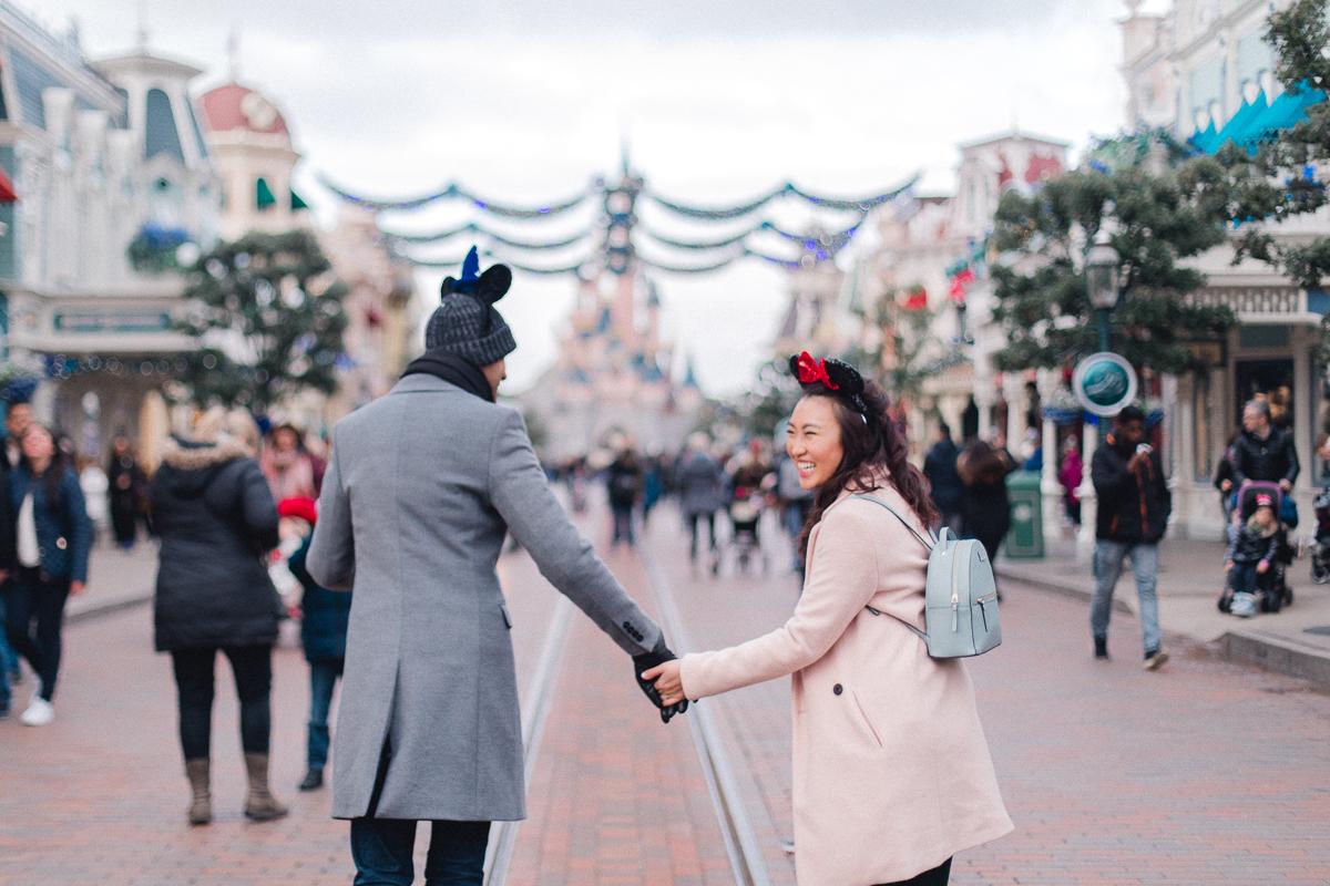 Chen Sands Paris Photographer Disneyland in Winter Engagement 7.jpg