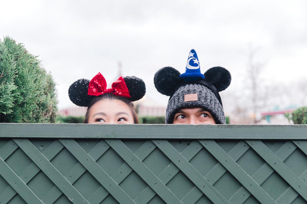 Chen Sands Paris Photographer Disneyland in Winter Engagement 13.jpg