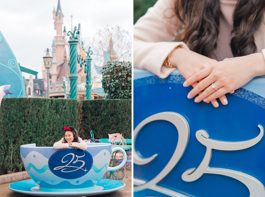 Chen Sands Photographer Paris Disneyland in Winter Engagement Session - dyptich 4.jpg