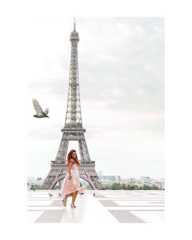 Heading into #LaRentrée like.... (I wish 😉) After a lovely holiday in Loire Valley I feel lucky to say that I'm SUPER looking forward to going back to Paris tomorrow - I love Paris in the autumn! Hère is beautiful @afiliketaffy outshining #latoureiffel - which not everyone can do 😘 #endofsummer #loveparis