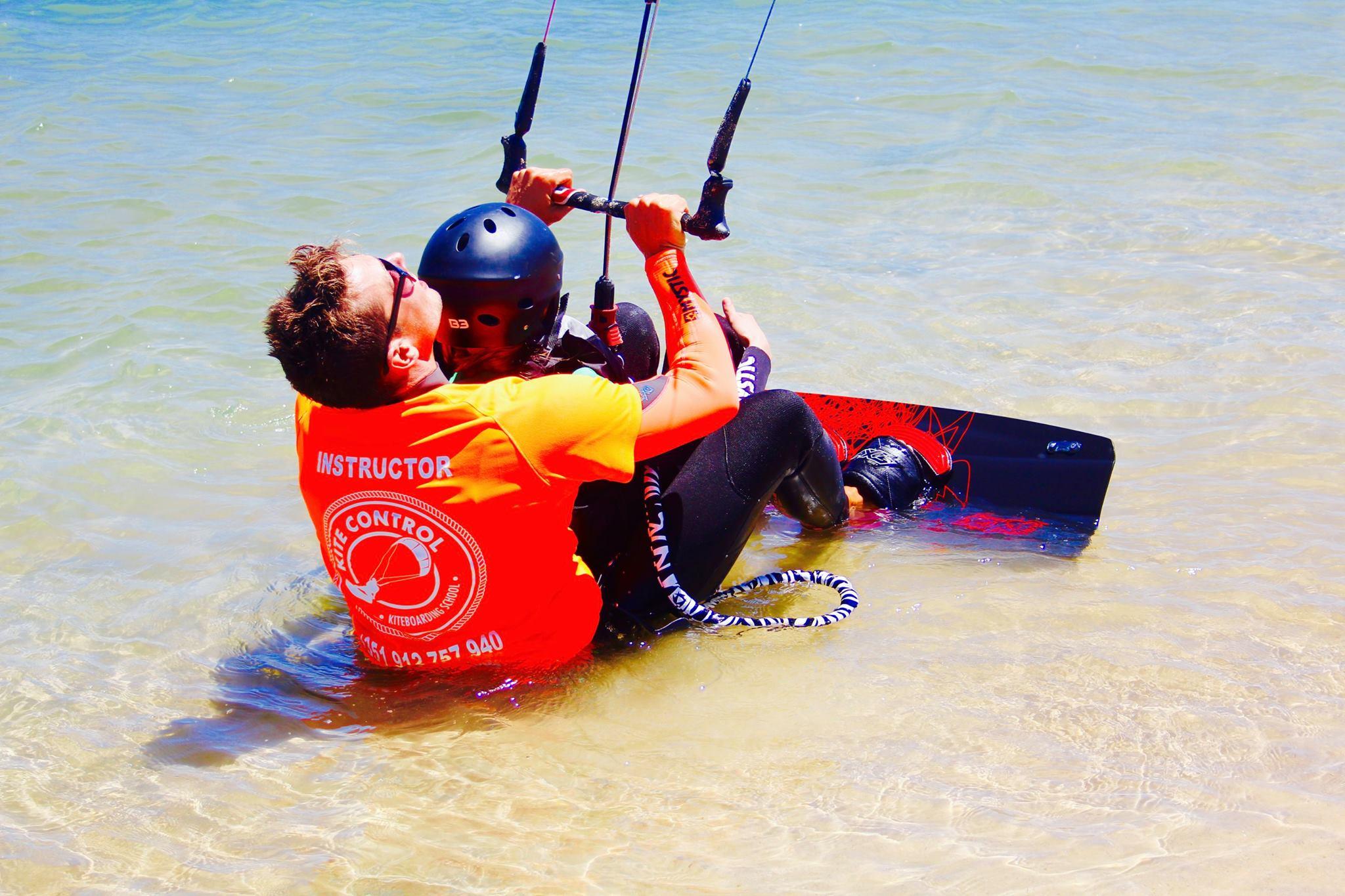 kitesurfing obidos portugal