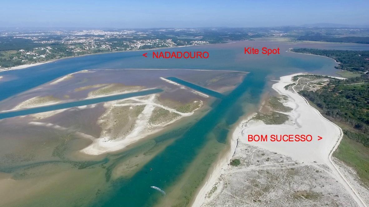 Kitesurfing spot Portugal - Kitesurf school Portugal - Kite Control