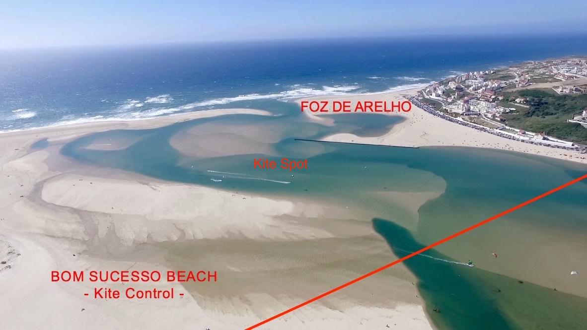 Kitesurf school Portugal - Kitesurf spot Portugal - Obidos lagoon - Lagoa de Obidos.jpg