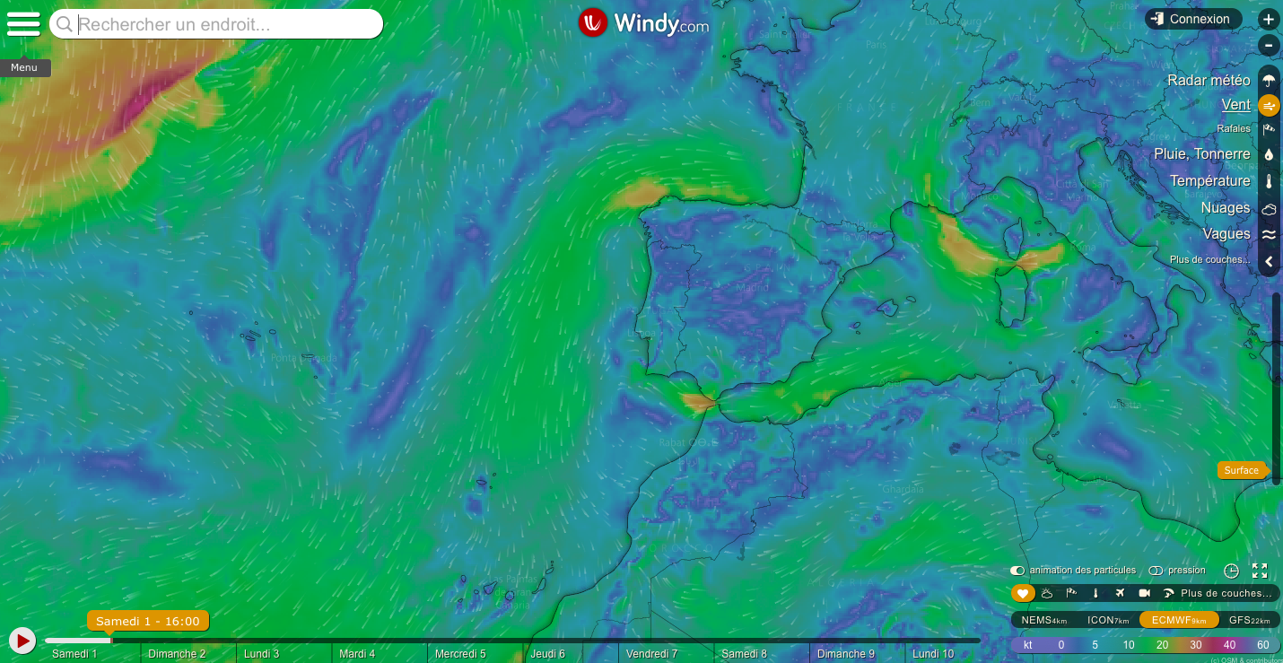 Kite Control Portugal | How to read the wind forecast