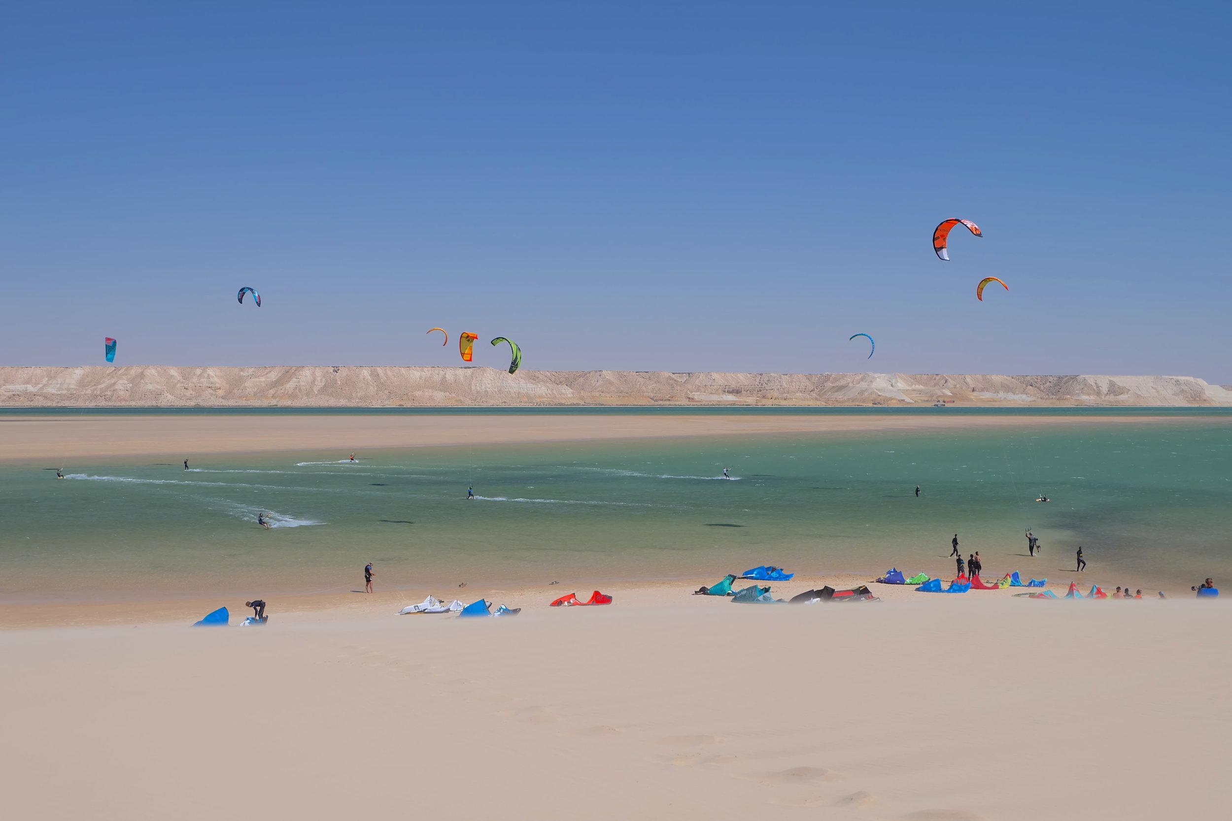 Kitesurf white dune Dakhla - Morocco.JPG