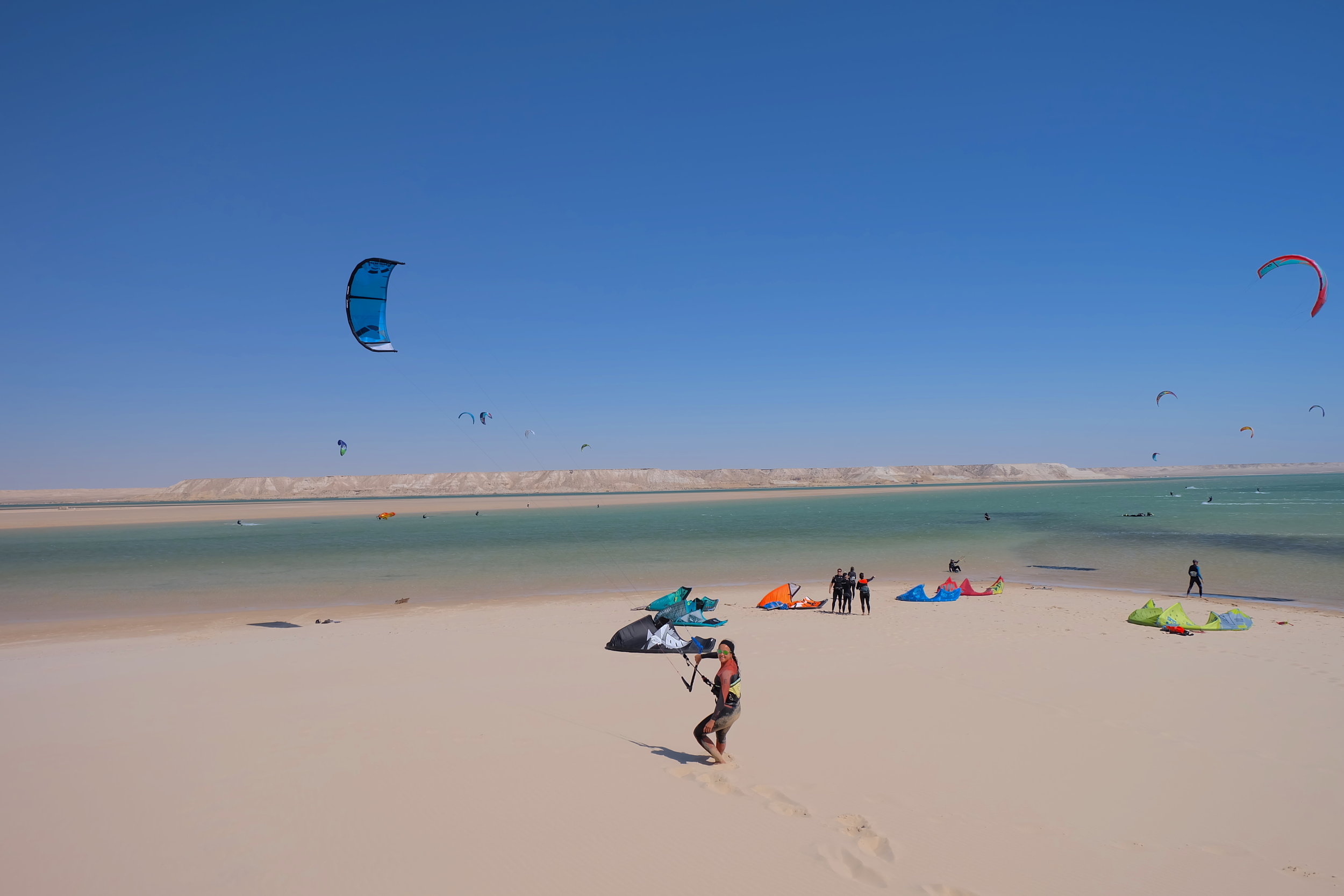Kitesurf trip - Dakhla Morocco - Kite Control.JPG