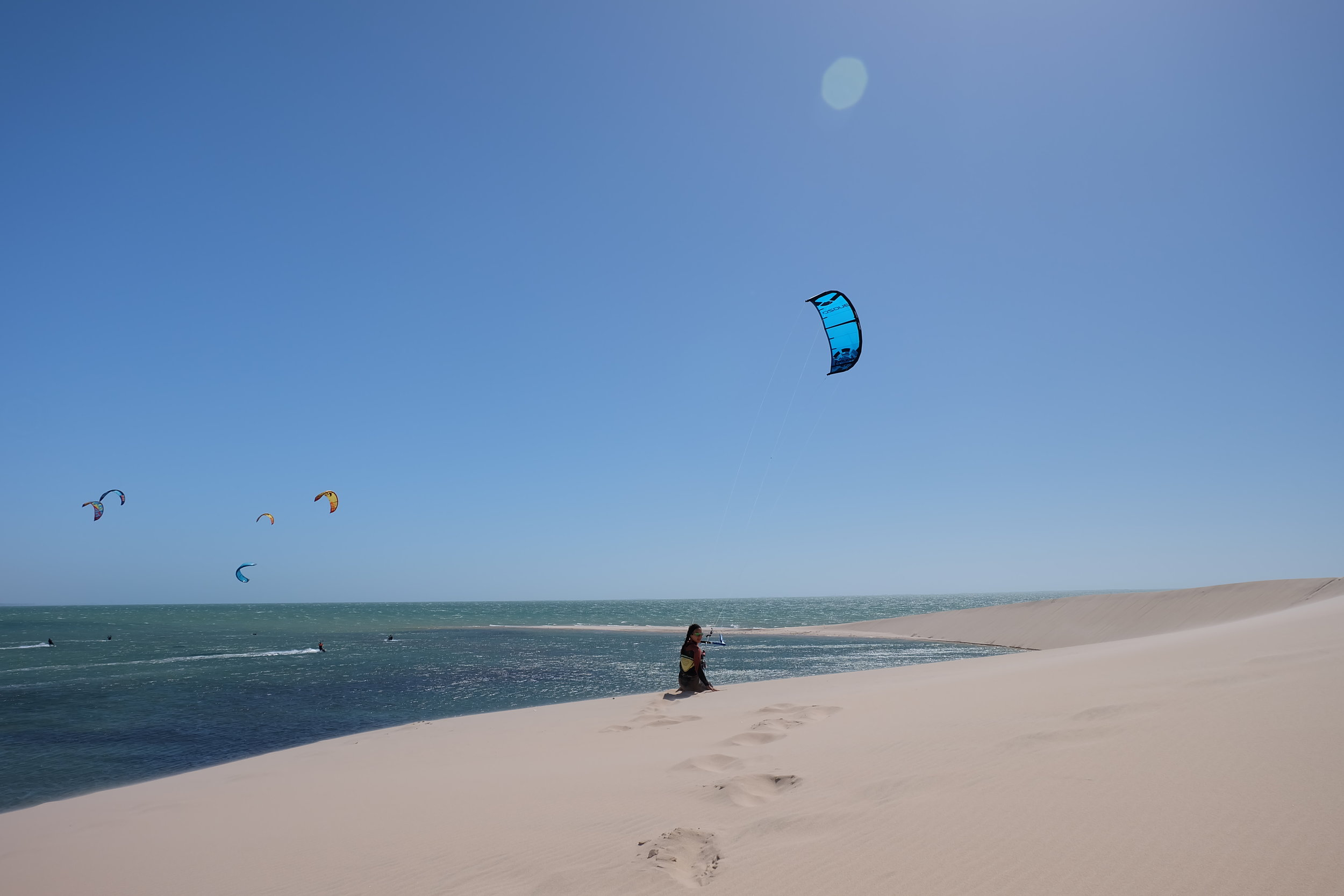 Dakhla kitesurfing - Kite Control kiteschool.JPG