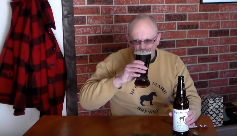 Tim Roettiger, owner/brewer/beer taster