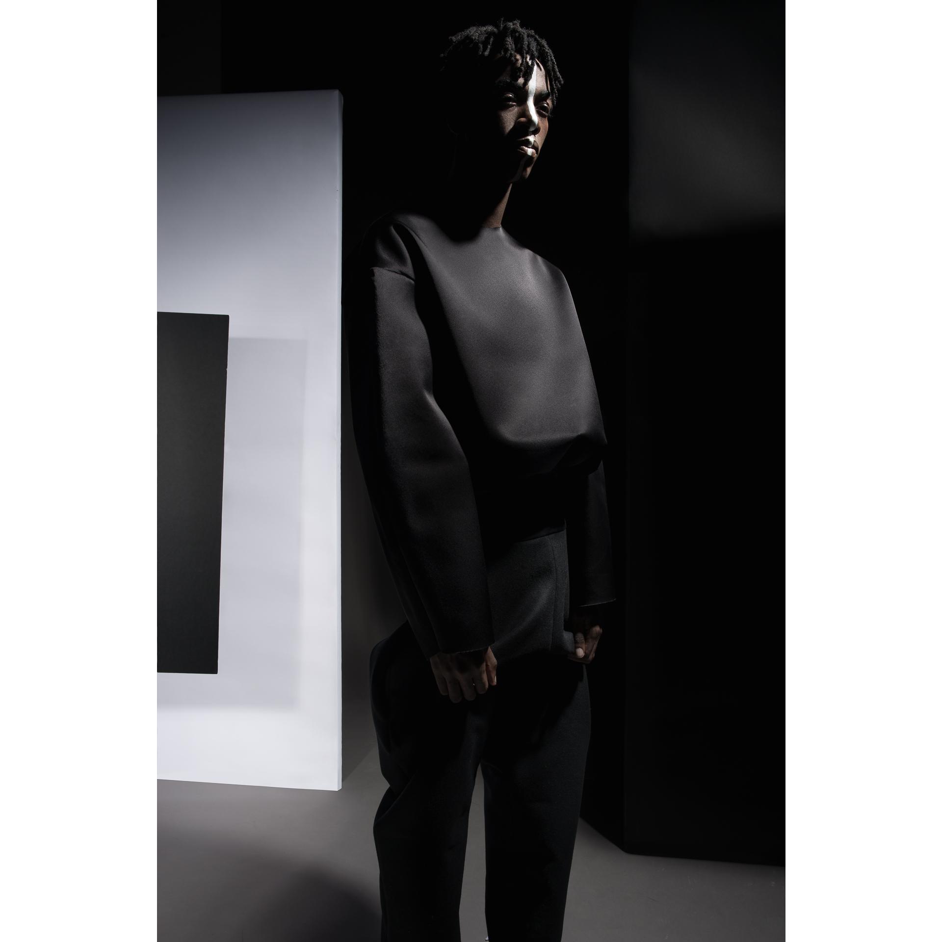 All garments :  Joycy Baker   Model :  Aris Mabiala