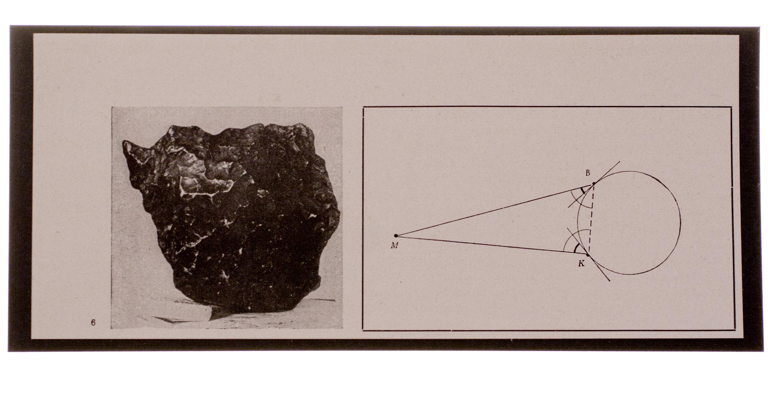 i believe (a meteorite)