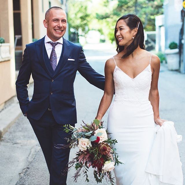 These two....nothing but ❤️ Thanks for sharing it with us. To the incredible team at @pianopianotherestaurant you guys were absolutely incredible...thanks for the yummy eats!!! 💄 makeup: @taylorswitzermakeup Hair: @civellosalonspa . . . . . #love #weddingday #weddinginspo #weddingphotography #toronto #torontoweddings #torontophotographer #weddinginspo
