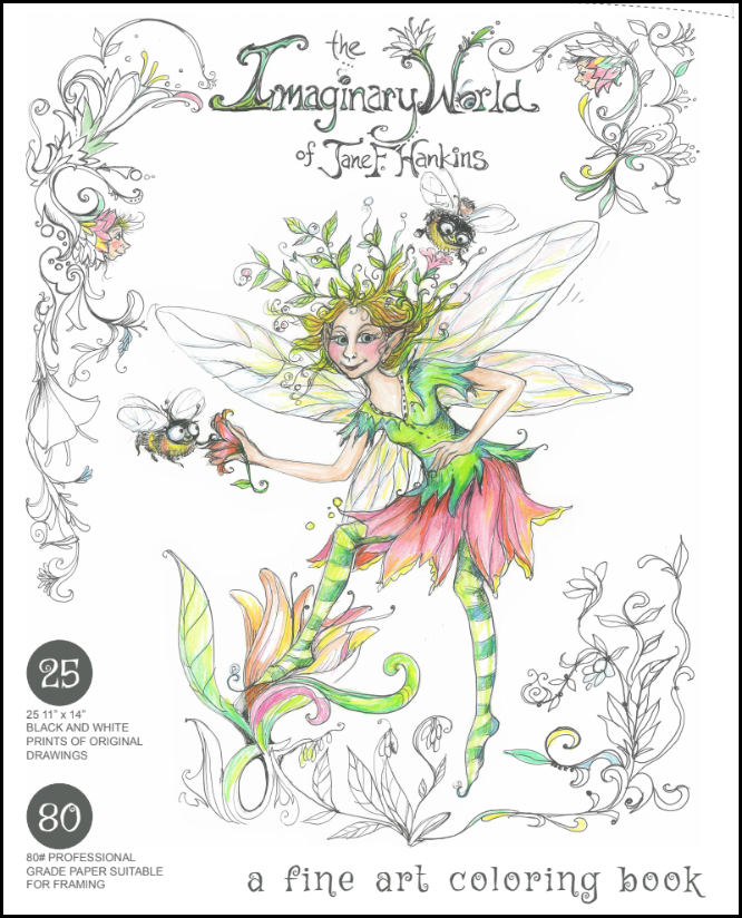 - Jane F. Hankins Fine Art Coloring Books — Sebastian Press