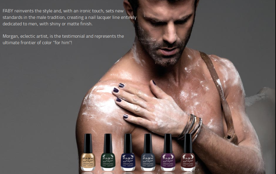 So horrible ... The Ad, the nail polish, the pose, the neatness. Ugh