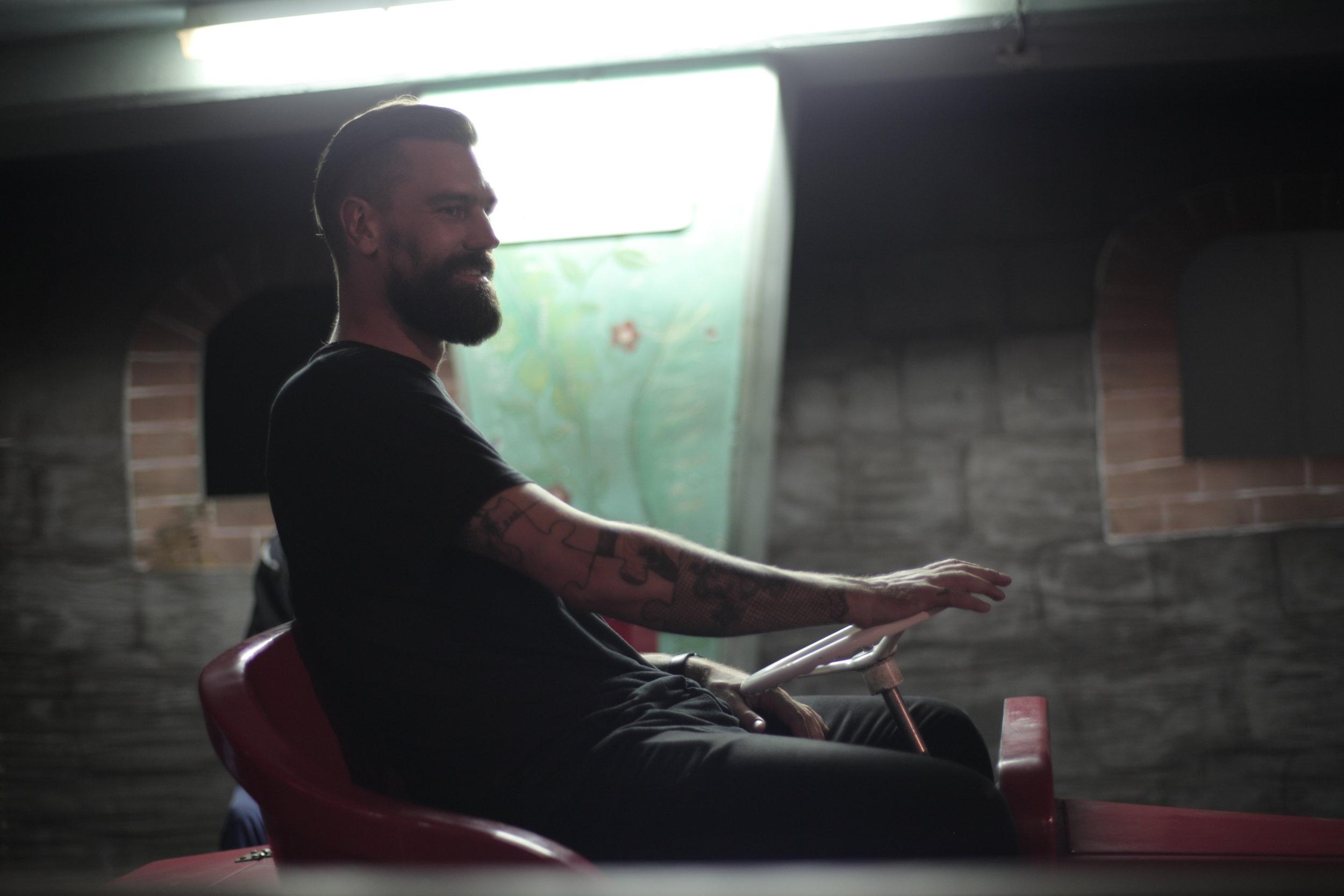 Brett Rogers_Food Booze and Tattoos_Season 1_Behind the Scenes (15).JPG