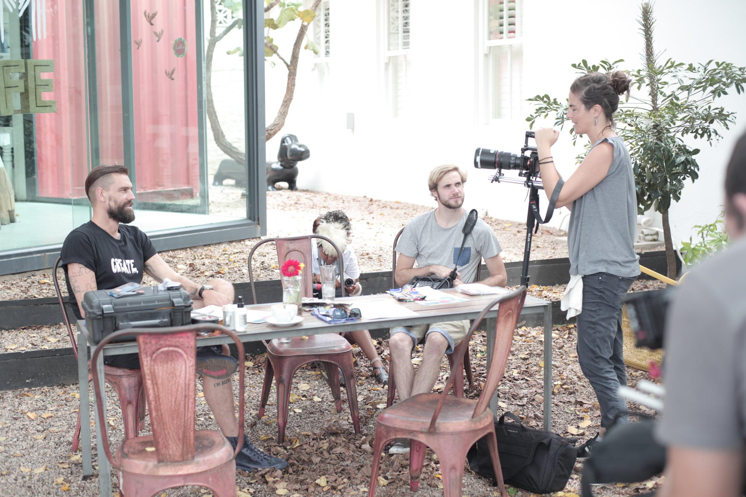 Brett Rogers_Food Booze and Tattoos_Season 1_Behind the Scenes (4).JPG