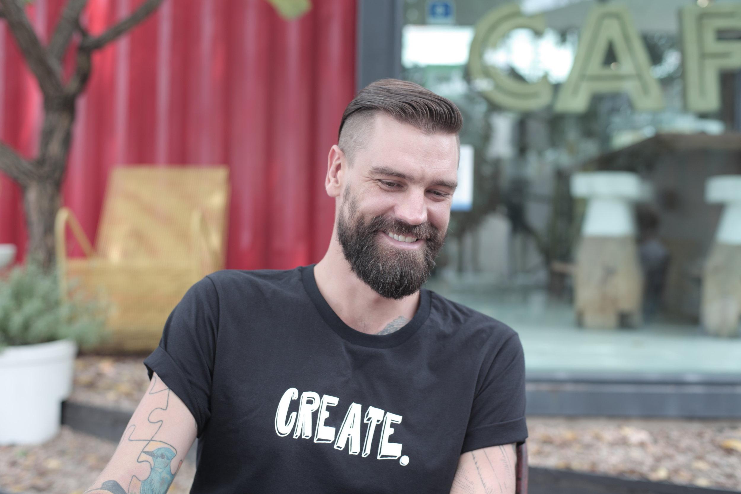 Brett Rogers_Food Booze and Tattoos_Season 1_Behind the Scenes (2).JPG