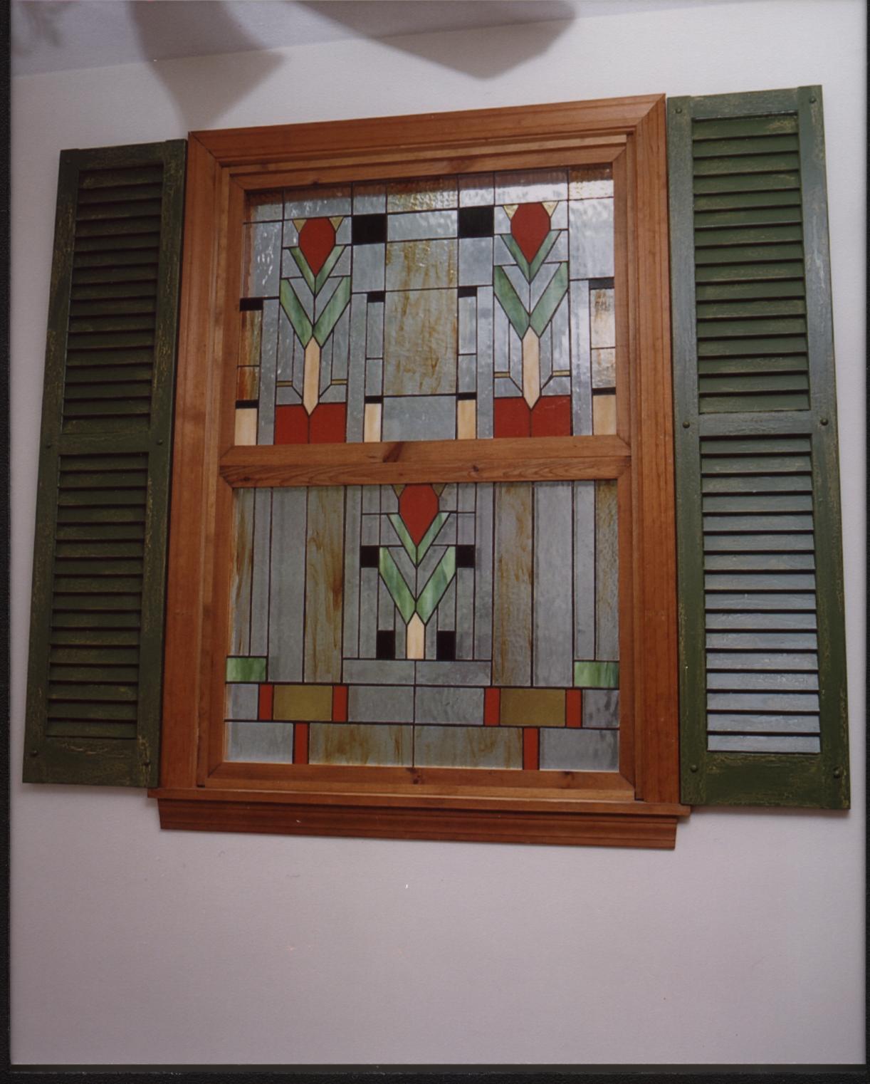Living Room Custom Window Installation