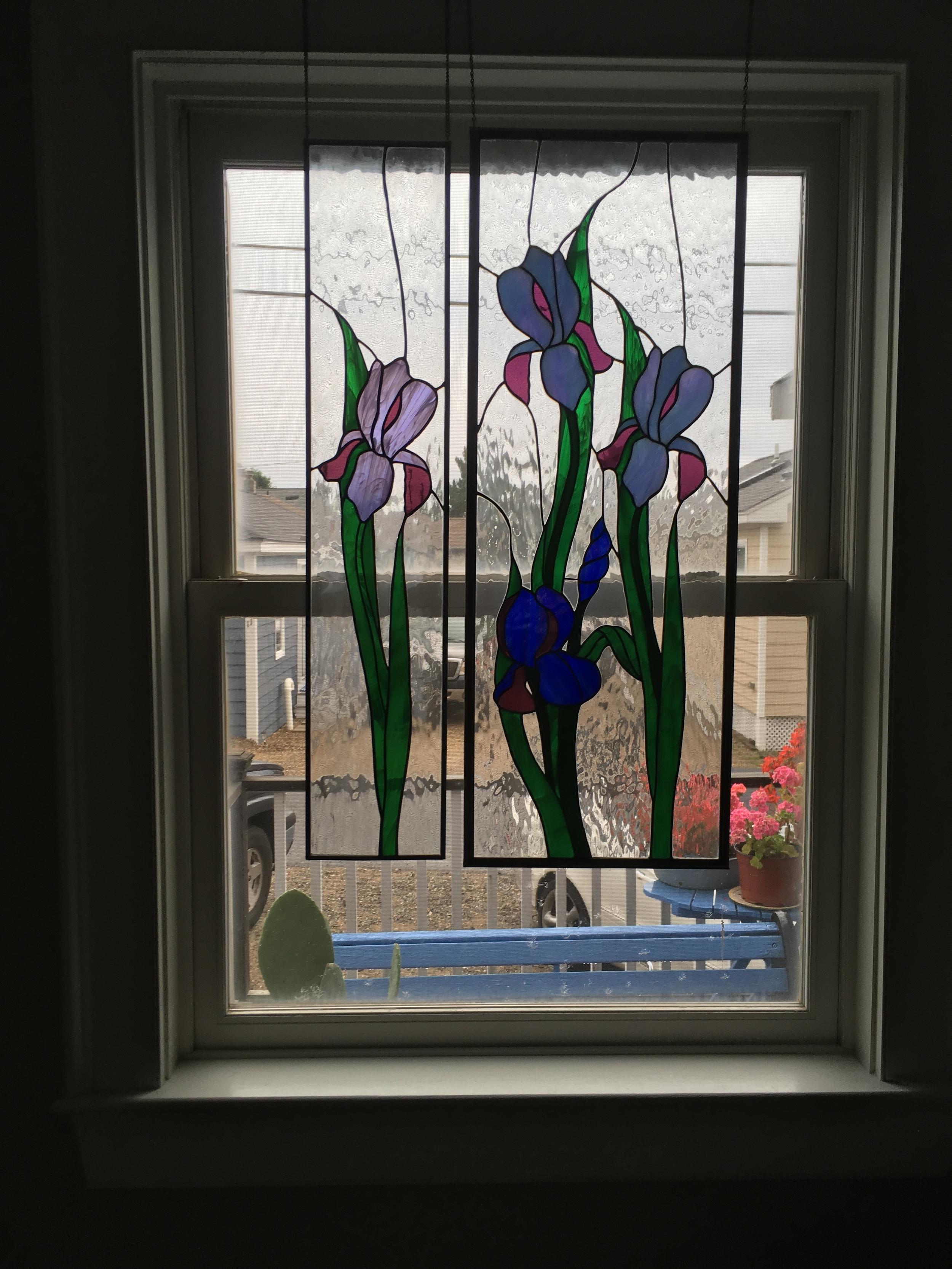 Iris Window Accents