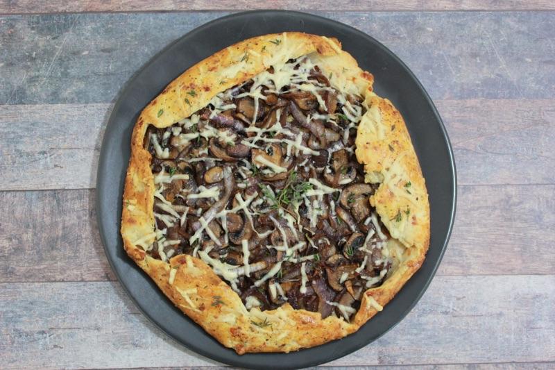 Mushroom & Onion Galette