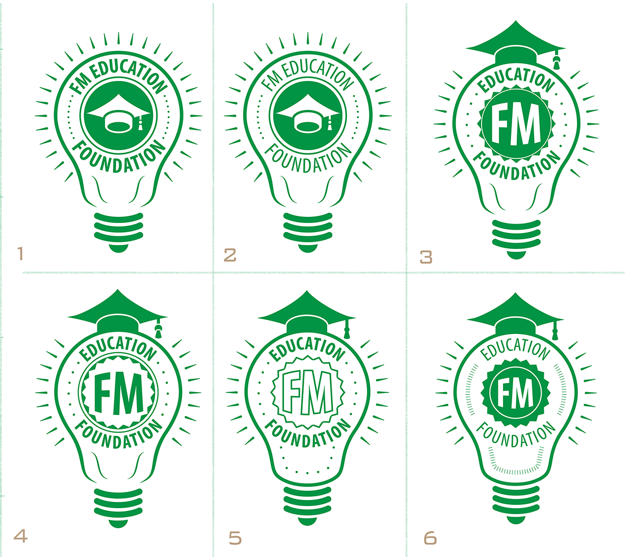 FM EF Logo Design Iterations (Large)
