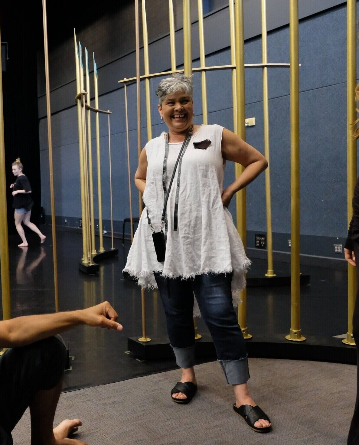 Tamara Cobus (Costume Designer)  has been designing nationally and internationally for theater, dance, and performance artists and personal clients for over thirty years. Her designs have been seen on runways for fashion, bridal and arts festivals. After a long career running her own business, she took the position of costume director for Richmond Ballet and then Atlanta Ballet. She retired from directorship to pursue a new career in film with  Black Panther  being one of her recently credited films.