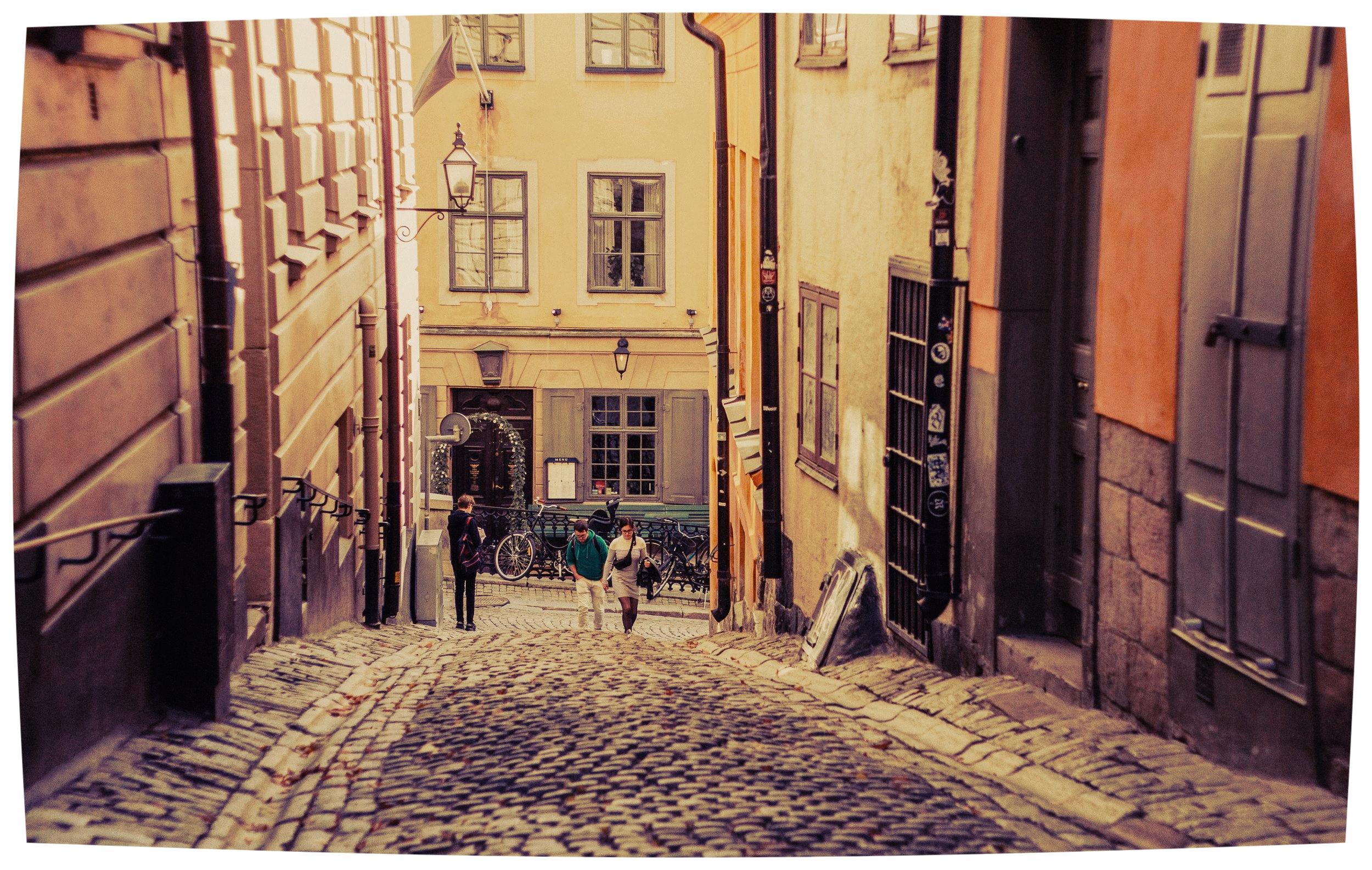 Stockholm's Gamla Stan is Instagram heaven. Photo credit Alina Kovalchuk