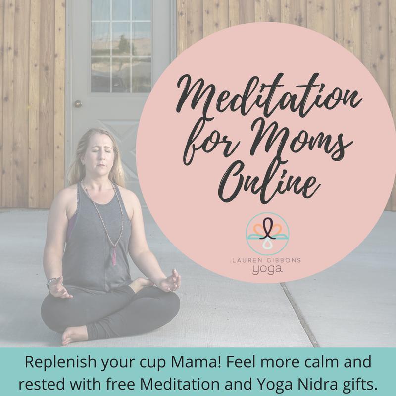 Online Meditation and Yoga Nidra for Moms