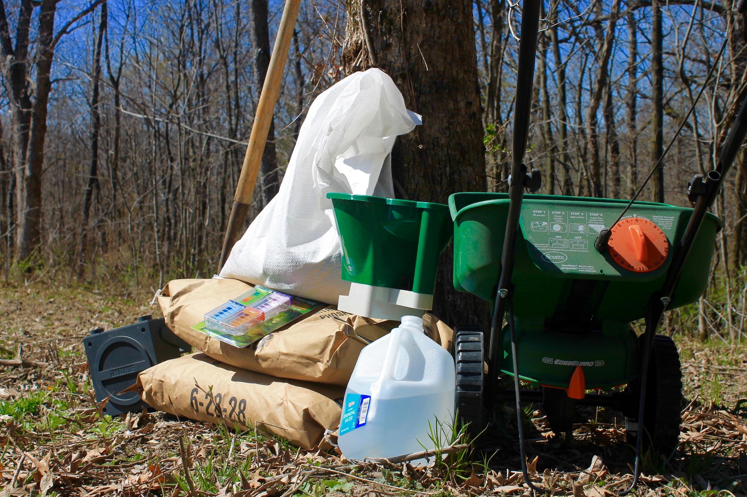 Food Plots No Equipment No Problem The Process Outdoors