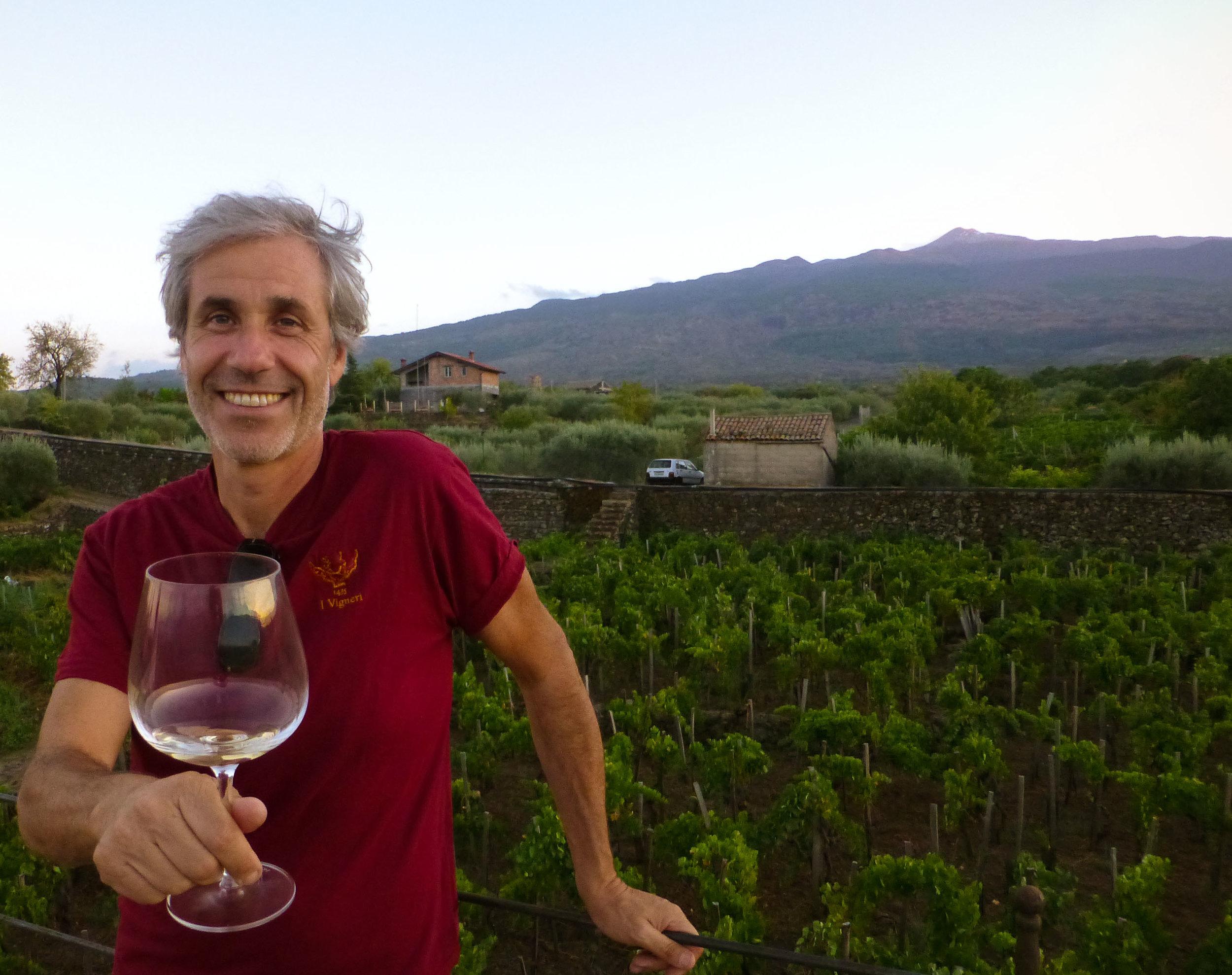 Salvo Foti  [photo credit: Brett Jones ,  The Wine Maestro ]