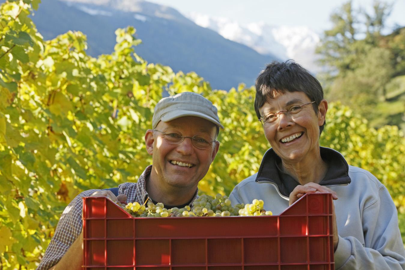Martin e Gisela Aurich, Weingut Unterortl [Foto Blickle]