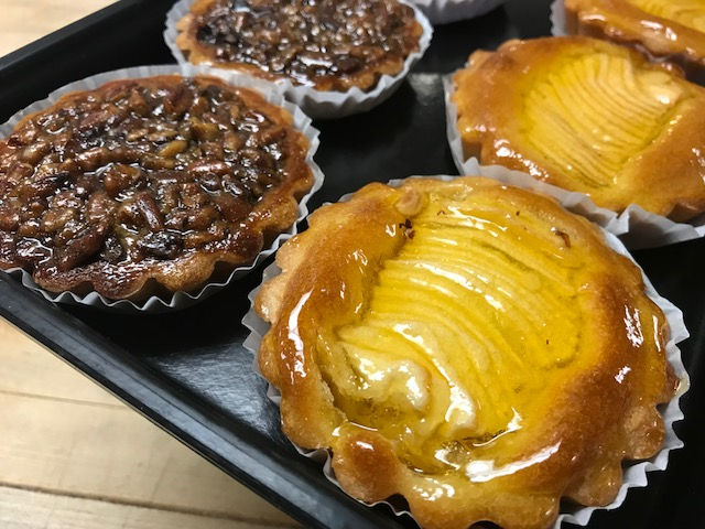 Pecan Tarts and Apple Flan Tarts