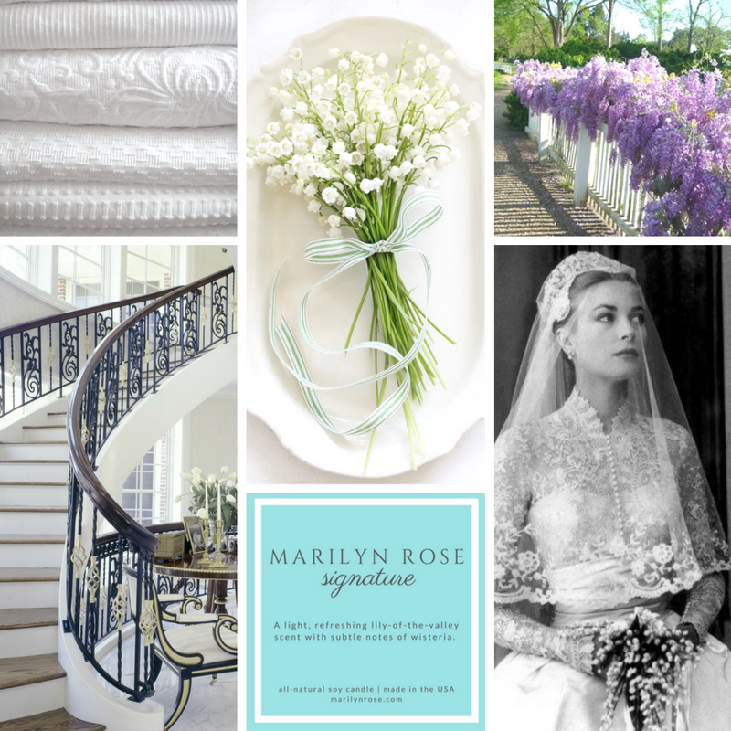 Marilyn Rose Interiors Luxury Candle Mood Board - designed by Bonnie Bryant O'Connor