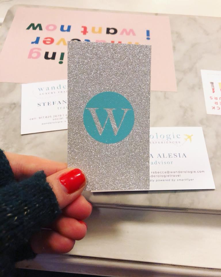 jukebox print sparkle business cards | glitter business cards | silver glitter business cards