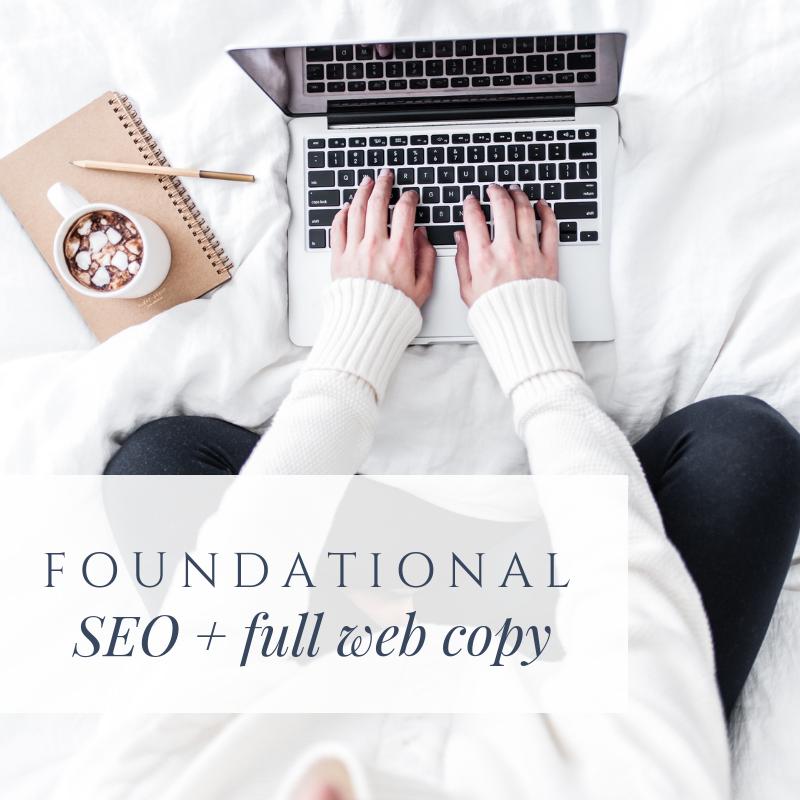 foundational SEO for creatives, SEO person for creatives, SEO and copywriting