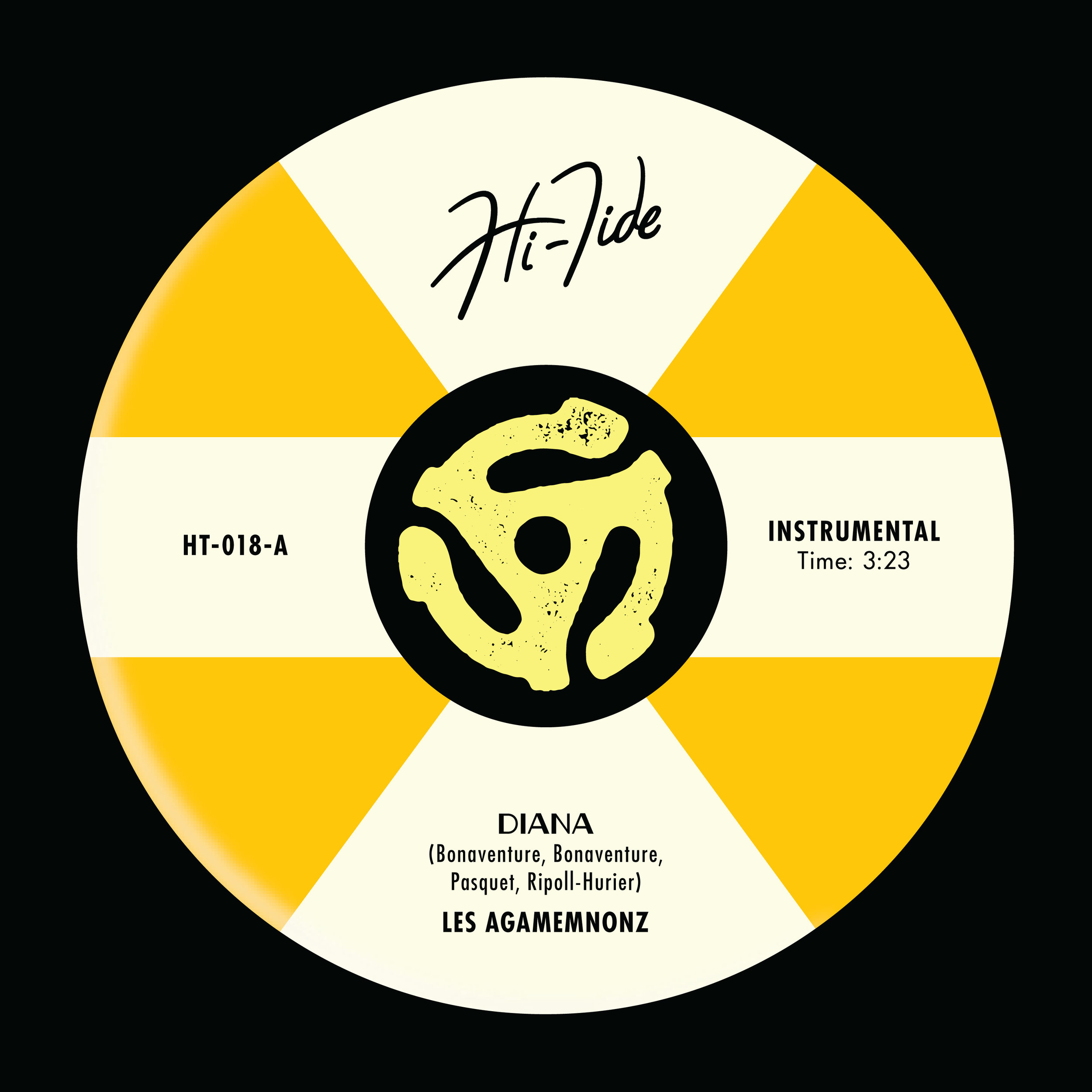 "LES AGAMEMNONZ  ""Diana / Lacrymos"" - Single (HT-018) Format: Digital"