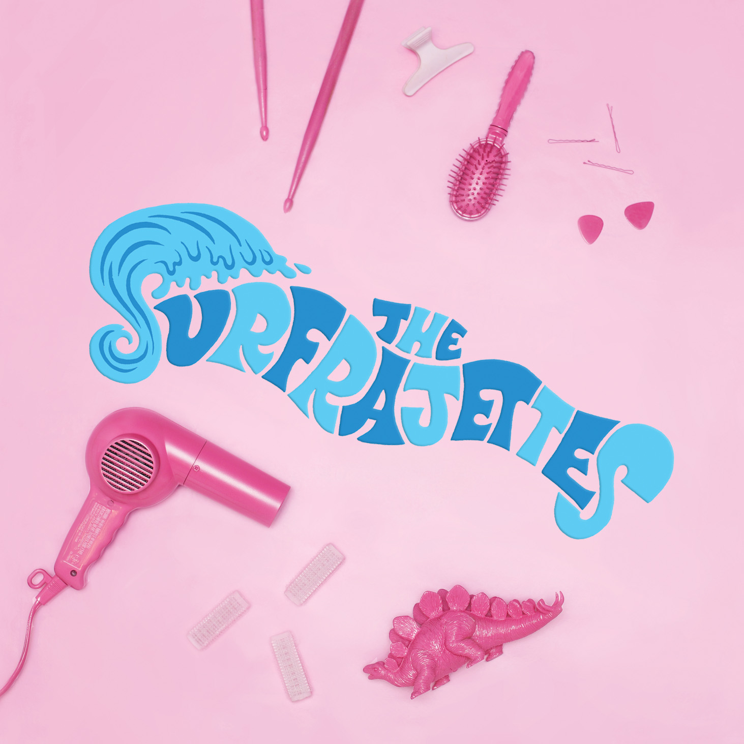"THE SURFRAJETTES  ""The Surfrajettes"" - EP (HT-008) Format: CD, Digital"