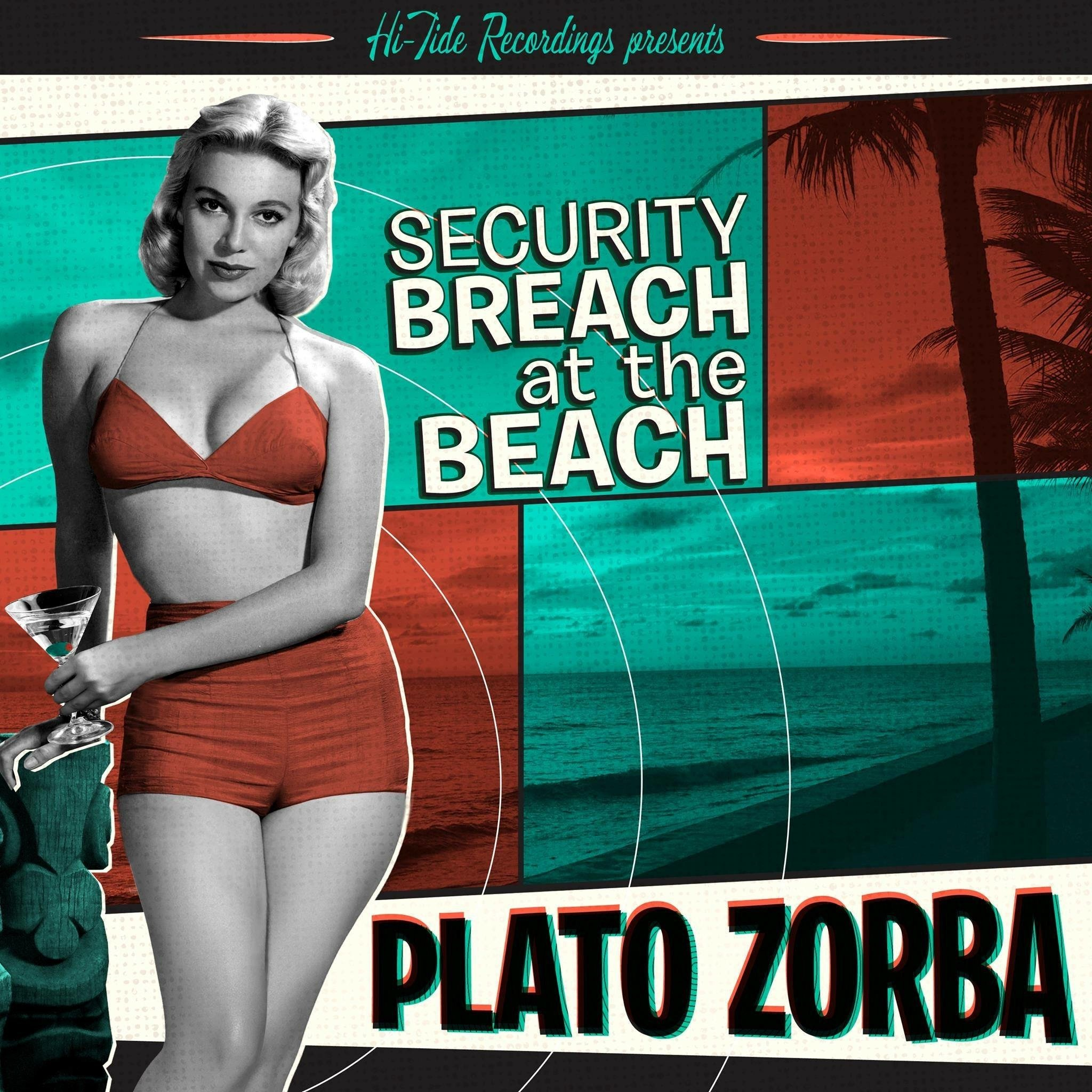 "PLATO ZORBA  ""Security Breach at the Beach"" - EP (HT-007) Format: CD, Digital"
