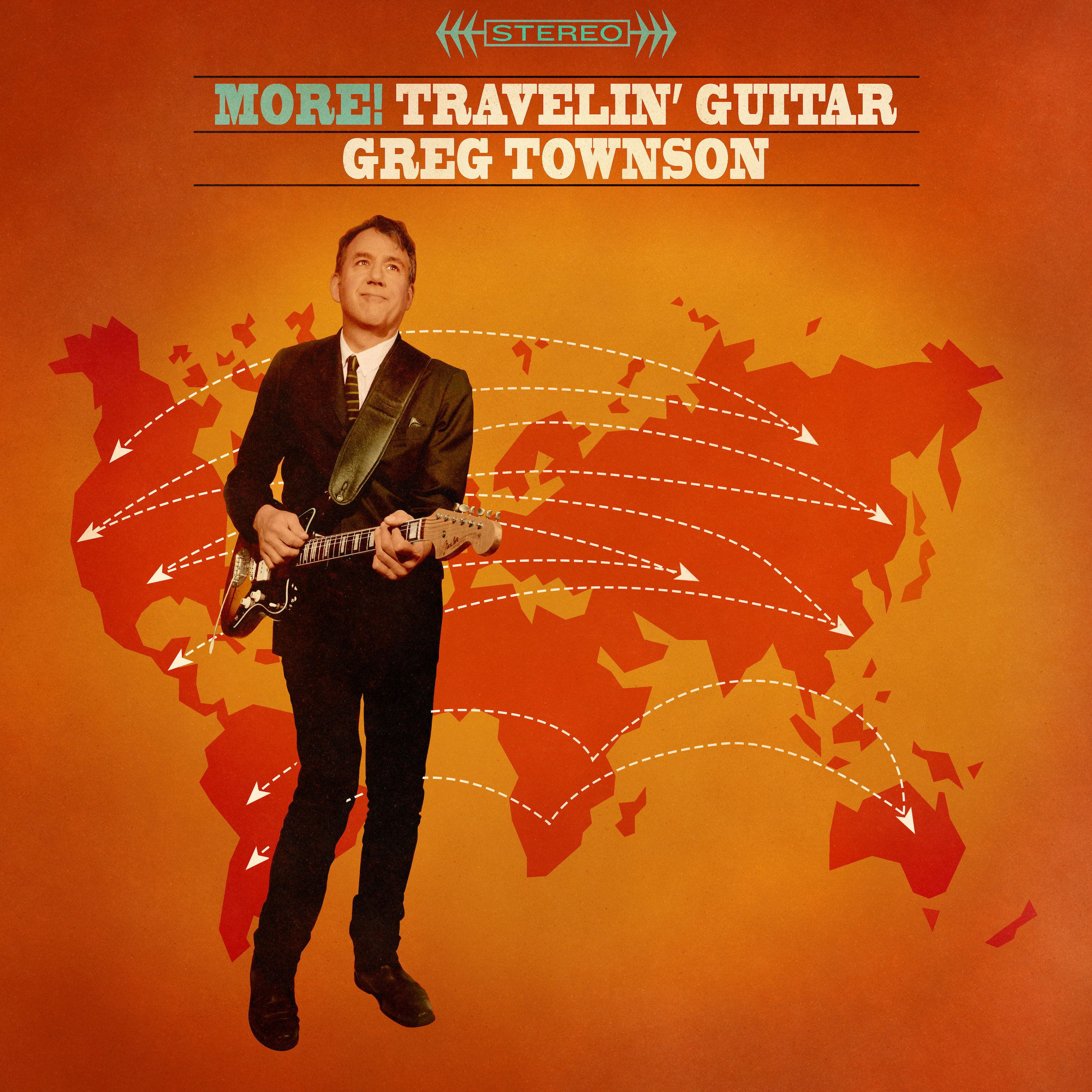 "GREG TOWNSON  ""More! Travelin Guitar"" (HT-037) Format: LP, Digital"