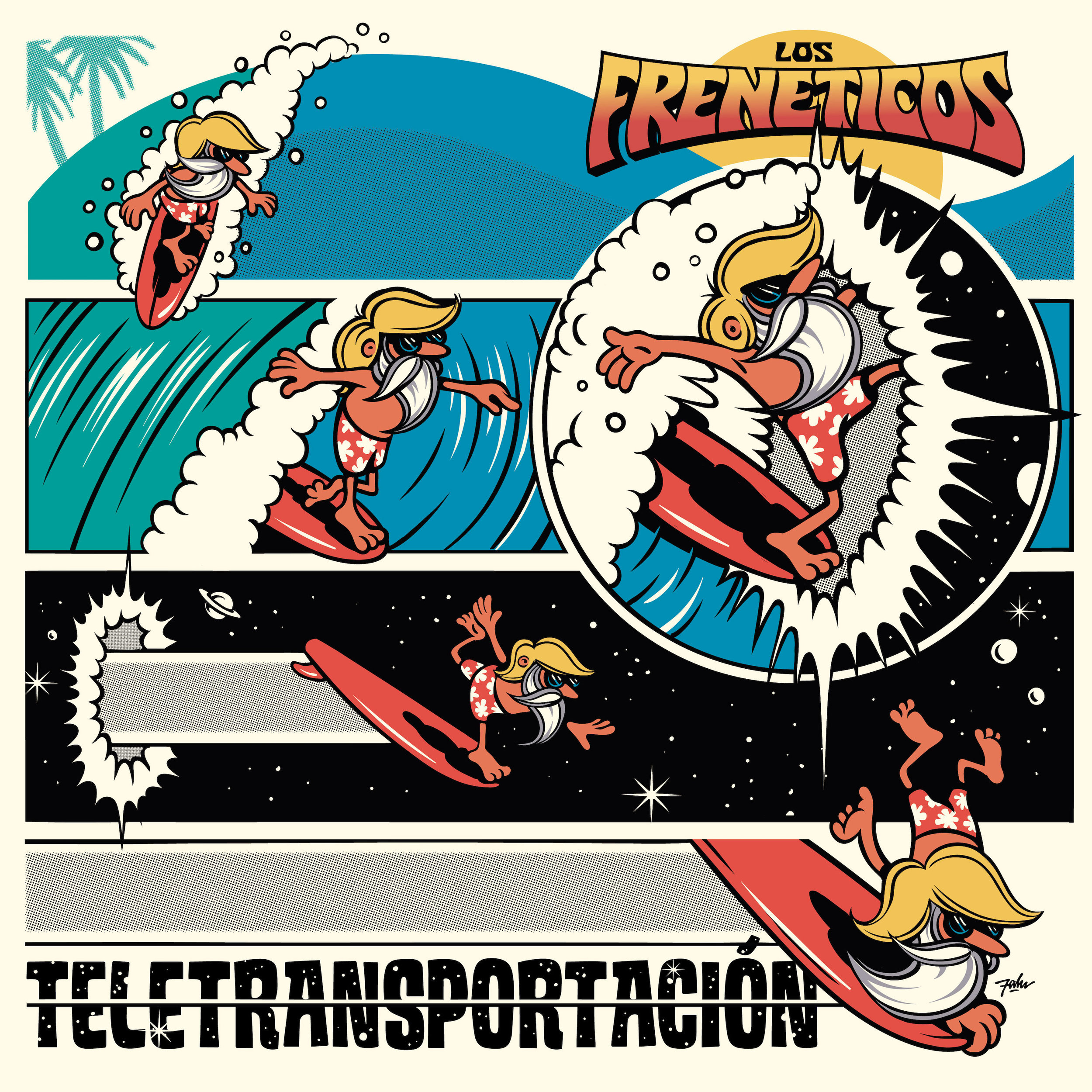 "LOS FRENETICOS  ""Teletransportación"" (HT-041) Format: LP, Digital"