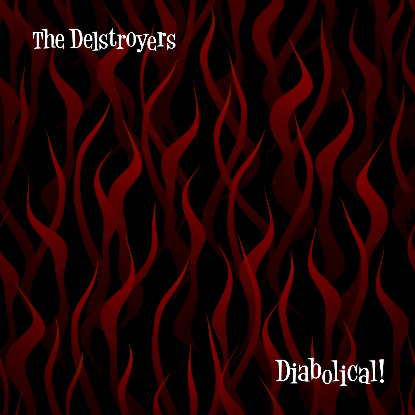 "THE DELSTROYERS  ""Diabolical"" (HT-012) Format: LP, CD, Digital"