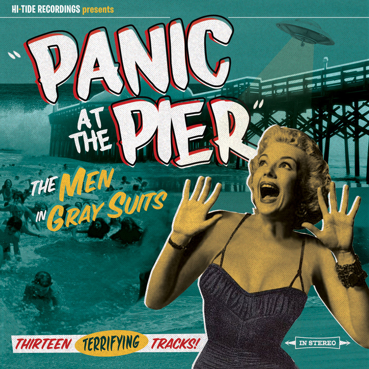 "THE MEN IN GRAY SUITS  ""Panic at the Pier"" (HT-006) Format: CD, Digital"