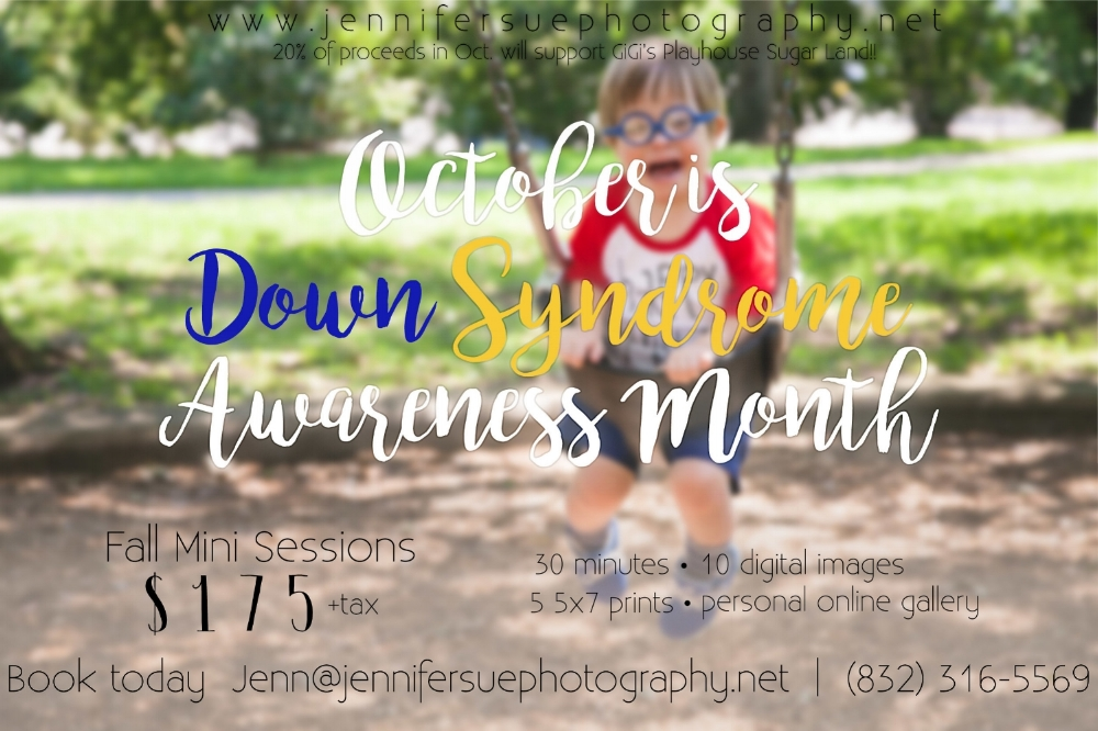 Down Syndrome Awareness Mini Session Special